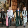 School children dressed up at Aston Hall