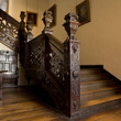 The staircase at Aston Hall