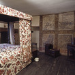 The bedroom at Blakesley Hall