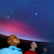 Children in the Planetarium at Thinktank