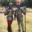 Knights at Weoley Castle
