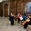String quartet reception in the Great Hall