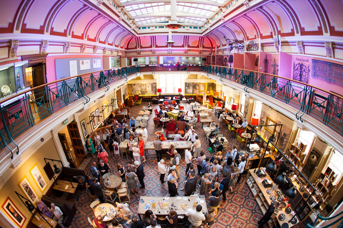 Christmas Party Birmingham Part - 24: Venue Hire At Thinktank · The Edwardian Tearooms At Birmingham Museum And  Art Gallery ...
