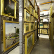 Picture stores at the Museum Collection Centre