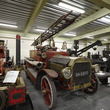 Dennis fire engine in the Museum Collection Centre