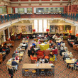 The Edwardian Tearooms from above