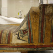 A false door painted on the coffin lid