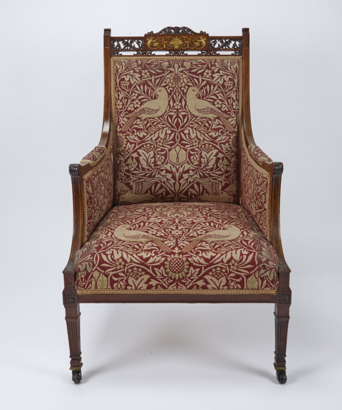 Blog Birmingham Museums - William morris chairs
