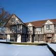 Blakesley Hall in the snow