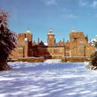 Aston Hall in the snow