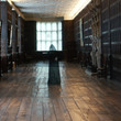 Ghostly figure in the Long Gallery at Aston Hall
