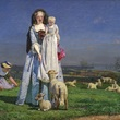 Pretty Baa Lambs by Ford Maddox Brown