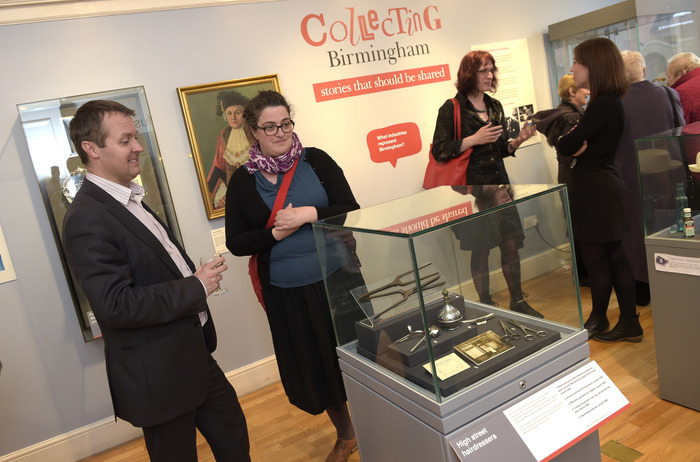 Collecting Birmingham exhibition at Museum of the Jewellery Quarter