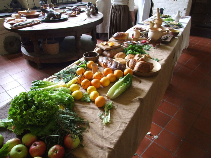 Food at Aston Hall
