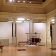 The Gas Hall undergoing a makeover in preparation for Night in the Museum