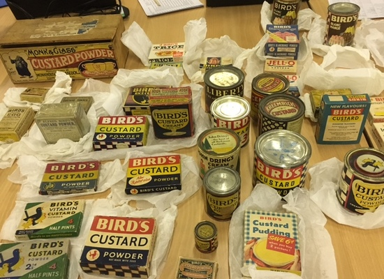 Bird's Custard collection