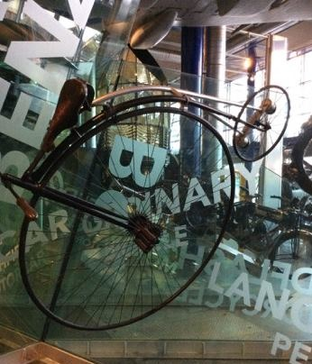 'Ordinary' bicycle on display at Thinktank