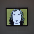 This is Fiona by Julian Opie, in the I Want! I Want! Art & Technology exhibition.