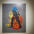Esika na Ngayi (My Place) by Eddy Kamauango Illunga, in the I Want! I Want! Art & Technology exhibition