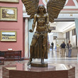 Jacob Epstein's Lucifer in the Round Room at Birmingham Museum and Art Gallery