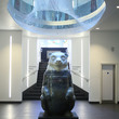 The Big Sleuth bear Xt by Reuben Colley at BIrmingham Museum and Art Gallery