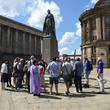 A group in Victoria Square on a Positively Birmingham guided tour © Positively Birmingham