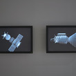 Untitled (Apollo - Soyuz test Project) by Stefan Gec in the I Want! I Want Art & Technology exhibition