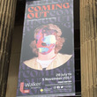The Coming Out banner outside the Walker Gallery in Liverpool