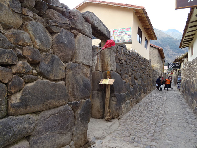 Restaurant in Ollantaytambo serving chicha. Photo courtesy of Susan Hull