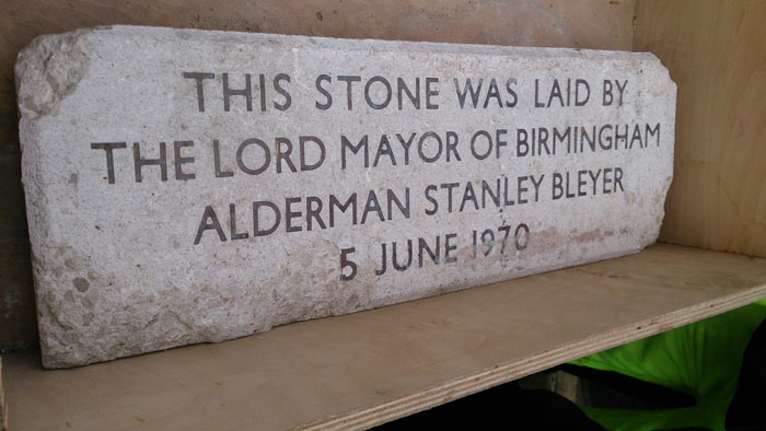 Central Library's Foundation Stone