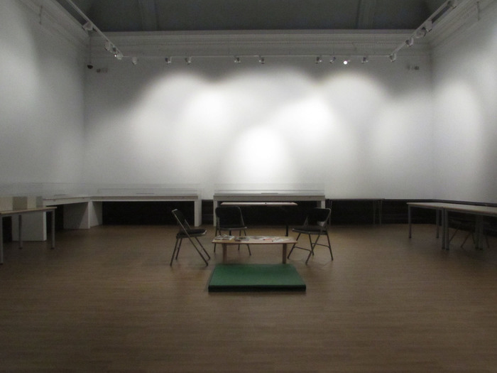 The blank page of our studio space, Gallery 15