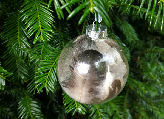 Christmas craft baubles cro