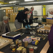 Patrons' see and hear about the Birmingham Manufactures project at the Museum Collection Centre
