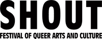 SHOUT Festival of Queer Arts and Culture logo