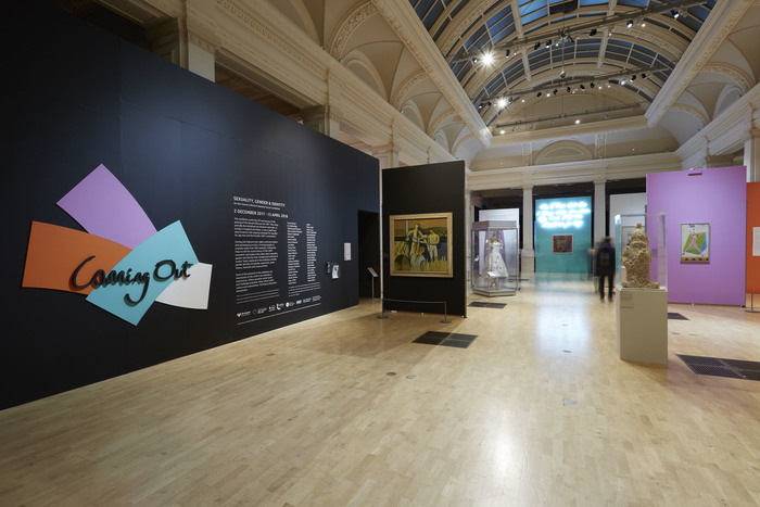 Coming Out: Sexuality, Gender and Identity exhibition at Birmingham Museum and Art Gallery