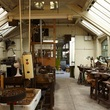 Inside the workshops at the Museum of the Jewellery Quarter