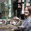 Fiona Harris at the Museum of the Jewellery Quarter