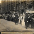 Suffragists march from Birmingham to London