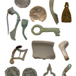 Portable Antiquities Scheme - montage of finds
