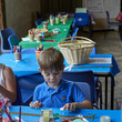 Children taking part in a craft activity