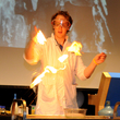Science theatre show at Thinktank