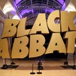 Black Sabbath sign at exhibition by Jas Sansi