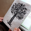 Arts for wellbeing - illustration of a tree