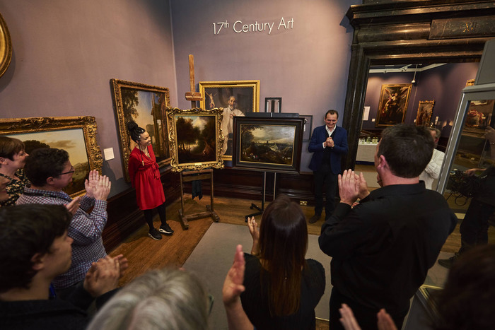 Britain's Lost Masterpieces: The pictures are revealed at Birmingham Museum and Art Gallery ©Daniel Graves for Tern TV