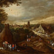 [After restoration] Autumn, c.1605-1610 Joos de Momper the Younger and workshop of Jan Brueghel the Elder