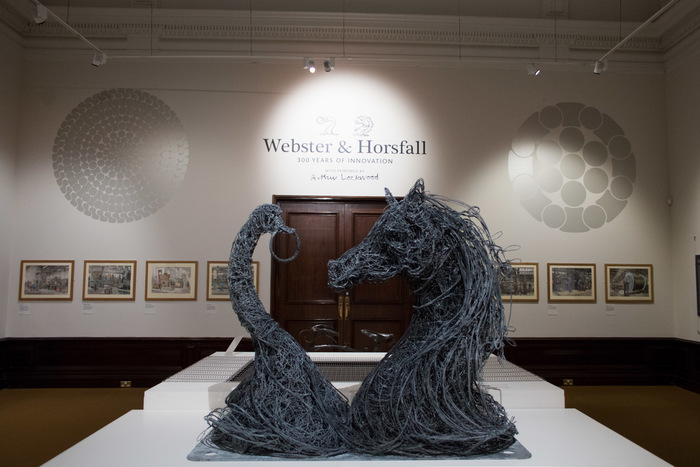 Webster and Horsfall: 300 years of Innovation exhibition