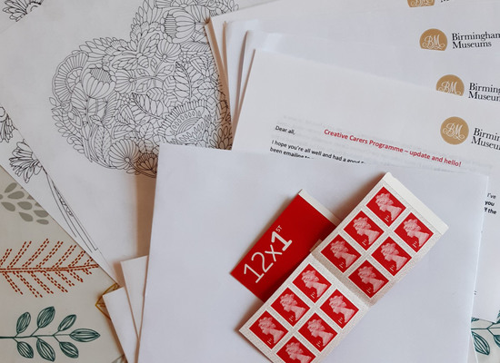 Sending out regular letters