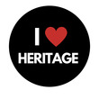 Birmingham Heritage week pin badge