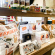 Birmingham merchandise on display in the shop at Birmingham Museum and Art Gallery