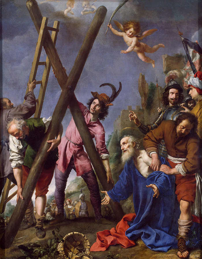 St Andrew Praying before his Martyrdom, 1643. By Carlo Dolci